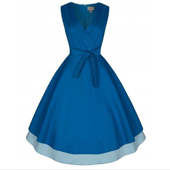 8cda61824364 Lindy Bop Dresses & Skirts - ☀️SALE☀ Lora 50's Rockabilly Inspired Swing  Dress